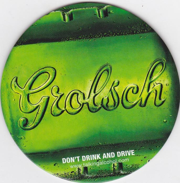 Suport de pahar / Biscuite GROLSCH