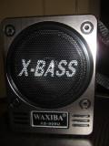Waxiba LANTERNA LATERALA - BOXA MP3 SI RADIO FM cu USB / CARD SD