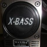 Waxiba LANTERNA LATERALA - BOXA MP3 SI RADIO FM cu USB / CARD SD - MP3 player