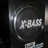 Waxiba MP3 SI RADIO FM cu SLOT USB / CARD SD - BOXA ACUMULATOR - MP3 player