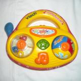 Vtech - Soft Singing Radio - jucarie muzicala 6 luni + - Limba Engleza - Jucarie carucior copii