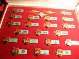 Cutie mare cu 23 Insigne Militare Ungaria ,diverse arme