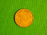 Germania 10 pfennig 1991 G, 1950 F (2 lei - primul an de batere)