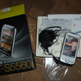 SAMSUNG GT-S5560i Alb - Telefon Samsung, Neblocat, Smartphone, Touchscreen+Taste, 5 MP