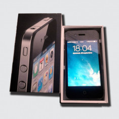 IPhone 4 16 gb, Negru, 16GB, Neblocat, Apple