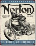 126.Reclama metalica vintage NORTON