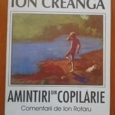 AMINTIRI DIN COPILARIE - Ion Creanga - Carte educativa