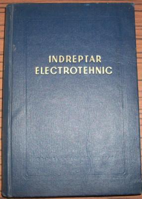 Indreptar electrotehnic foto
