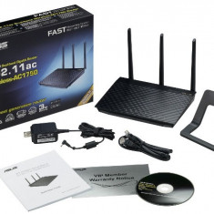 ASUS RT-AC66R Dual-Band Wireless-AC1750 Gigabit Router IEEE 802.11ac, IEEE, Port USB, Porturi LAN: 4