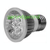 Bec cu 4 LED-uri, 4W/220V, dulie E27 - lumina alba/6630, Becuri LED