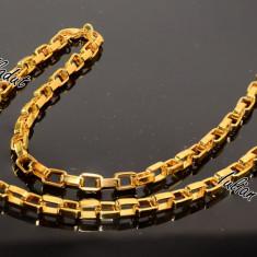 Lant Inox Placat cu Aur cod 1013