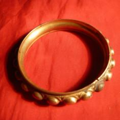 Bratara alama ,veche Franta, marcaj Brevete SGDG  ,d.int.= 5,9 cm