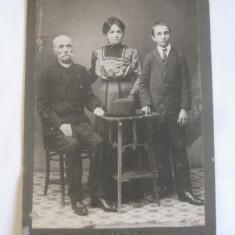 FOTOGRAFIE PE CARTON AL.NORVAK BUCURESTI ANII 1910, Portrete, Romania 1900 - 1950