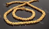 Set lant+bratara din inox Cod 1020