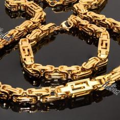 Set lant+bratara INOX Cod 1052 - Set bijuterii inox