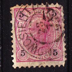 Timbre MONARHIA AUSTRO-UNGARA 1867-1908 = CIRCULATE IN BUCOVINA - SULITA NOUA