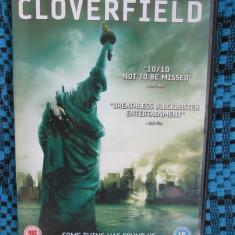 CLOVERFIELD - film DVD (original din ANGLIA, in stare impecabila!!!)