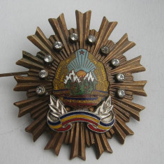 ORDINUL SECURITATII CLS.3 - Decoratie