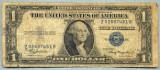 718 BANCNOTA  - STATELE UNITE ALE AMERICII  - 1 DOLLAR - anul 1935 -SERIA 02687451 -starea care se vede