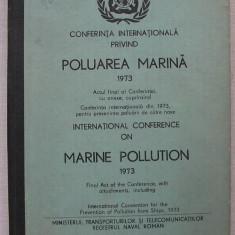 Conferinta Internationala privind Poluarea Marina 1973 (bilingv)
