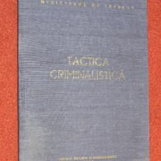 Tactica criminalistica - Constantin Aionitoaie