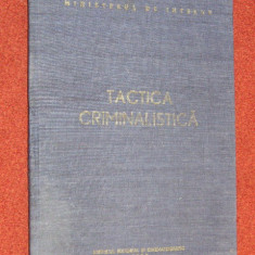 Tactica criminalistica - Constantin Aionitoaie - Carte Criminologie