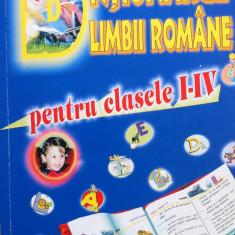 DICTIONARUL LIMBII ROMANE PENTRU CLASELE I-IV - Dictionar ilustrat