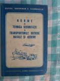 Norme de tehnica securitatii in transporturile rutiere navale si aeriene, Alta editura