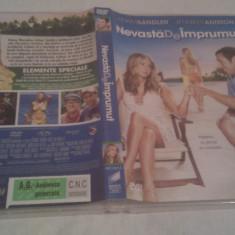 DVD ORIGINAL FILM NEVASTA DE IMPRUMUT, SUBTITRARE ROMANA, DURATA 112 MIN. - Film comedie