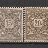 Senegal.1915 Porto-Tamburina regelui 6 buc. MS.44