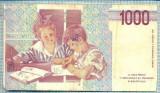 826 BANCNOTA  - ITALIA - 1000 LIRE - anul 1990 -SERIA 484391 -starea care se vede