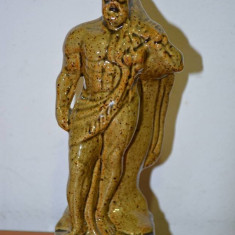 STATUETA HERCULES 2 PORTELAN EMAILAT - sculptura reproducere