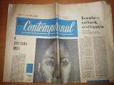 ziarul contemporanul 30 iulie 1965 ( saptamanal politic ,social ,cultural )