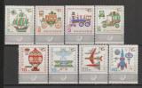 Bulgaria.1969 Mijloace de transport  SB.244