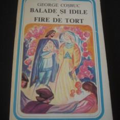 GEORGE COSBUC - BALADE SI IDILE * FIRE DE TORT {1983} - Carte poezie