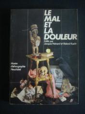 JACQUES HAINARD* ROLAND KAEHR - LE MAL ET LA DOULEUR* MUSEE D'ETHNOGRAPHIE NEUCHATEL {1986} foto