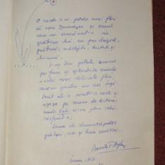 Pasi prin lume - Barutu T.Arghezi (autograf)