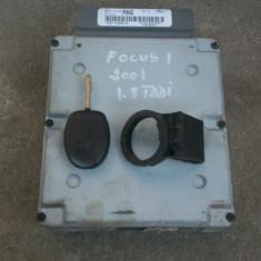 Calculator cip si imobilizator Ford Focus 1 - ECU auto, FOCUS (DAW, DBW) - [1998 - 2004]