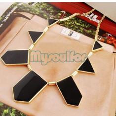 Colier fashion, auriu + expediere gratuita