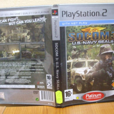 SOCOM 3 US Navy SEALs Platinum (PS2) (ALVio) + sute de alte Jocuri PS2 Sony, Actiune, 16+
