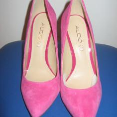 Pantofi ALDO - Pantof dama Aldo, Culoare: Rose, Marime: 38, Rose, Cu toc