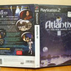 Atlantis III: The New World (PS2) (ALVio) + sute de alte jocuri PS2, Actiune, 3+
