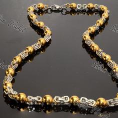 Lant Inox Placat cu Aur cod 1118