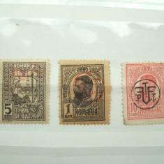ROMANIA 1918 / OCUPATIE GERMANA IN ROMANIA - Timbre Romania, Stampilat