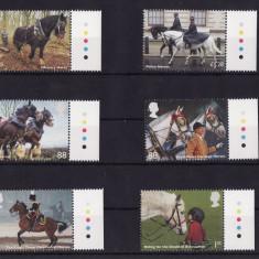 MAREA BRITANIE 2014 WORKING HORSES - CAI, Nestampilat