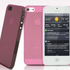 husa roz  iphone 4 expediere gratuita + folie protectie ecran sell by PHONICA