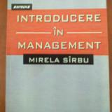 Introducere in management (Mirela Sirbu) - Carte Management