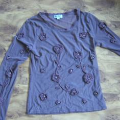Bluza italiana din tul unica, marimea M REDUCERE FINALA DE LA 75 LA 30 lei !!! - Bluza dama, Marime: M, Culoare: Din imagine, Maneca lunga
