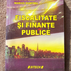 FISCALITATE SI FINANTE PUBLICE - SITECH - Carte despre fiscalitate