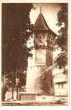AMP3728 Sibiu, turn, orasul vechi, RPR, Editura de Stat